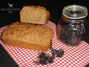 Brown Bread With Dillisk harvested and dried in Doolin
