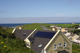 Solar Panels at Sea View House