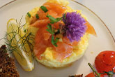Farm Eggs with Burren Smoked Salmon